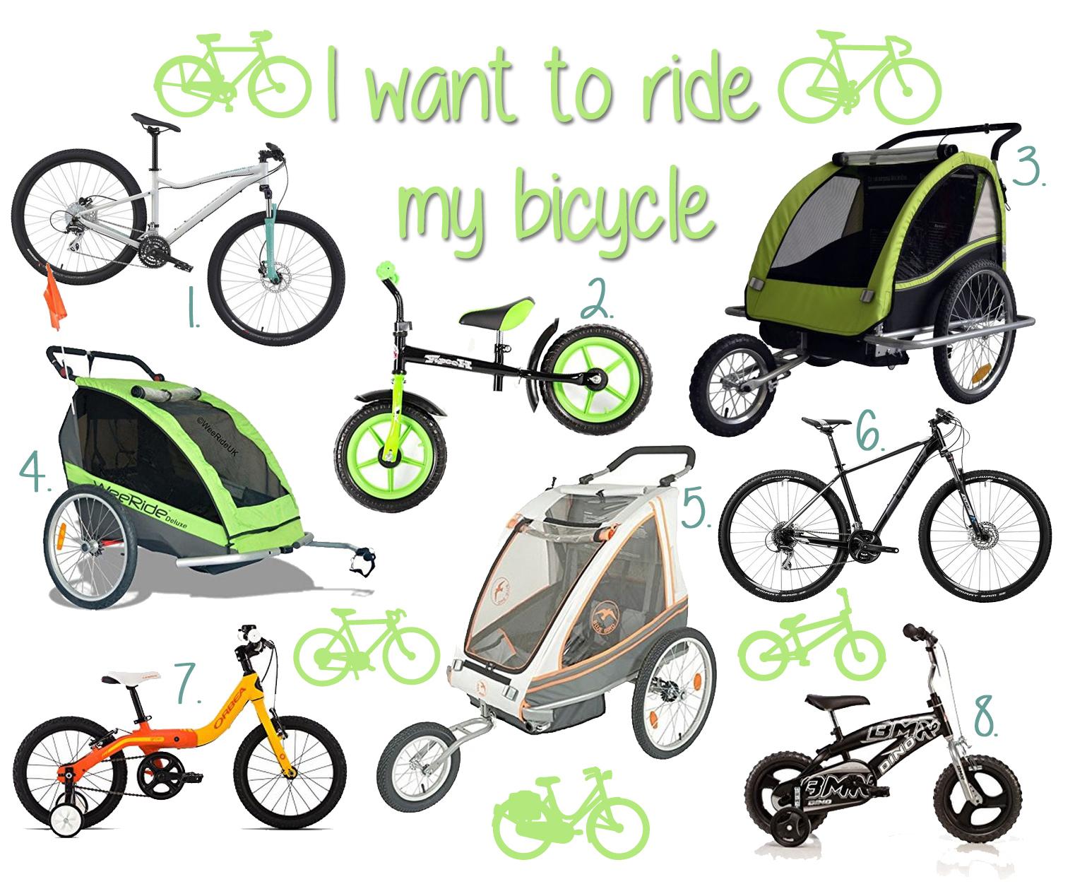 fahrrad fahren unterwegs mit kind und kegel wunderhaftig. Black Bedroom Furniture Sets. Home Design Ideas